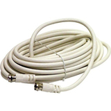 Steren BL-215-406WH Coaxial Network Cable - 72' - Patch Cable - White