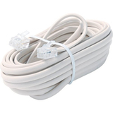 Steren BL-324-015IV Telephone Network Cable - 15 ft - Ivory
