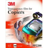 3M PP2200 Transparency Film - 8.50 x 11 - 100 x Sheet
