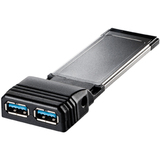 34947 - Iomega 34947 2-port USB 3.0 ExpressCard Adapter