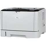 Ricoh Aficio SP 3400N Laser Printer - Monochrome - Plain Paper Print - Desktop