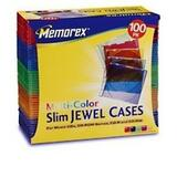 Memorex Slim Jewel CD Cases