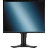 "NEC Display MultiSync LCD2090UXi-BK-1 20"" LCD Monitor with VUKUNET free CMS - 16 ms - 4:3 - Adjustable Display Angle - 1600 x 1200 - 280 Nit - 700:1 - DVI - VGA - Black"