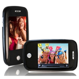 XOVision EM608VID 8 GB Black Flash Portable Media Player