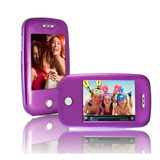 XOVision EM608VID 8 GB Purple Flash Portable Media Player