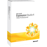 Microsoft Expression Studio v.4.0 Web Professional - Complete Product - 1 Workstation NHF-00006