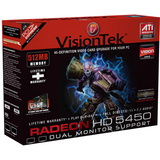 Visiontek 900311 Radeon HD 5450 Graphics Card - PCI Express 2.1 x16 - 512 MB DDR3 SDRAM
