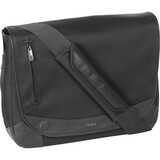 Targus Hughes TEM003US Notebook Case - Messenger - Suede - Black