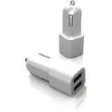 Macally CARUSB Dual-USB Auto Adapter CARUSB