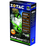 ZOTAC ZT-84MEG5M-HSL GeForce 8400 GS Graphics Card - PCI Express 2.0 x16 - 256 MB DDR2 SDRAM
