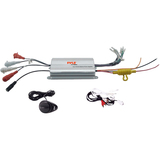 Pyle PLMRMP3A Marine Amplifier - 1200 W PMPO - 4 Channel - Class AB