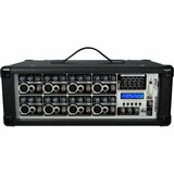 PylePro 8-Channel 800 Watts Powered Mixer w/MP3 Input - PMX802M