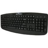 Seal Shield Silver Storm STK503P Keyboard - Wired - Black