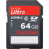 SanDisk Ultra SDXC Secure Digital High Capacity (SDHC) - SDSDRH064GA11