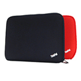 Lenovo 57Y4294 Notebook Case - Sleeve - Neoprene - Black, Red