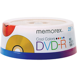 Memorex 5706 DVD Recordable Media - DVD-R - 16x - 4.70 GB - 25 Pack Spindle