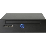 AOpen Digital Engine DE7000 Barebone System Small Form Factor - NVIDIA MCP7A-LP Chipset - Socket P PGA-478 - 1 x Processor Support - Black 91.ADE01.7030