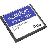 AddOncomputer.com FACTORY APPROVED 4GB CompactFlash card F/Cisco