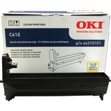 Oki 44315101 LED Imaging Drum - Yellow