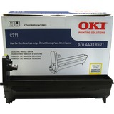 Oki 44318501 LED Imaging Drum - Yellow