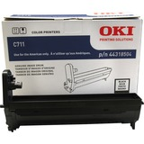 Oki 44318504 LED Imaging Drum - Black