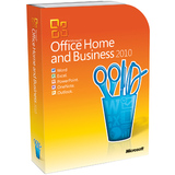 T5D-00417 - Microsoft Office 2010 Home and Business - 32/64-bit - Complete Product - 1 PC