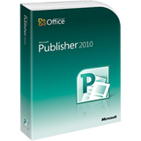 Microsoft Publisher 2010 32-BIT/X64 1 License DVD