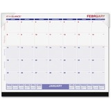 AAGSKLKFW32 - At-A-Glance Recycled Desk Pad Calendar