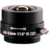Arecont Vision MPL 4.0 4 mm f/1.8 Fixed Focal Length Lens for CS Mount MPL4.0