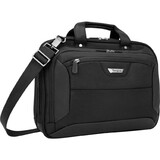 Targus Zip-Thru CUCT02UA14S Notebook Case - Ballistic Nylon - Black