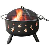 Landmann Big Sky 28345 Stars & Moon Wood Fireplace