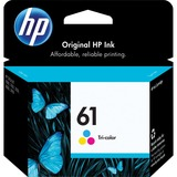 HP No. 61 Ink Cartridge - Cyan, Magenta, Yellow - CH562WN140
