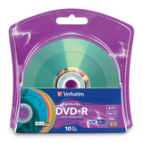 Verbatim 96941 DVD Recordable Media - DVD+R - 16x - 4.70 GB - 10 Pack Blister Pack