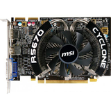 MSI R5670 Cyclone 1G Radeon HD 5670 Graphics Card - PCI Express 2.1 x16 - 1 GB GDDR5 SDRAM