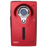 Audiovox Small Wonder EZ2000 Digital Camcorder - 2 LCD - Red