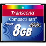 Transcend TS8GCF400 8 GB CompactFlash (CF) Card TS8GCF400