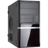 In Win Z638 System Cabinet - Mini-tower - Piano Black
