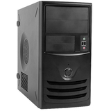In Win Z589 System Cabinet - Mini-tower - Black - Steel