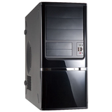 In Win C638 System Cabinet - Mid-tower - Piano Black - Steel