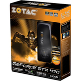 ZOTAC ZT-40201-10P GeForce GTX 470 Graphics Card - PCI Express 2.0 x16 - 1.25 GB GDDR5 SDRAM