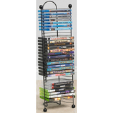 Atlantic Nestable 63712046 Media Storage Rack