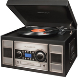 Crosley Memory Master II CR2413A Record/CD/Turntable CR2413A-BK