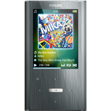 Philips GoGear SA2ARA08K 8 GB Flash Portable Media Player