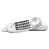 AT&amp;T Trimline 210 Standard Phone - White - 210W