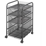Safco Onyx Mesh File Cart