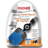 Maxell 191032 Mouse - Optical Wired - Blue