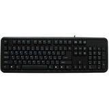 Ergoguys CD-1049 Keyboard - Wired - Black