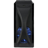 Thermaltake VL70001W2Z System Cabinet - Mid-tower - Black