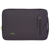 STM DP-2143-1 Notebook Case - Sleeve - Fiber, Foam - Black, Green