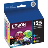 Epson DURABrite T125520 Ink Cartridge - Cyan, Magenta, Yellow